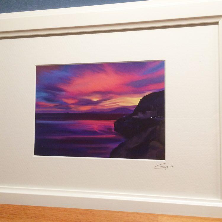 sunset-of-the-straits-geraldine-martinez-gibraltar-artist