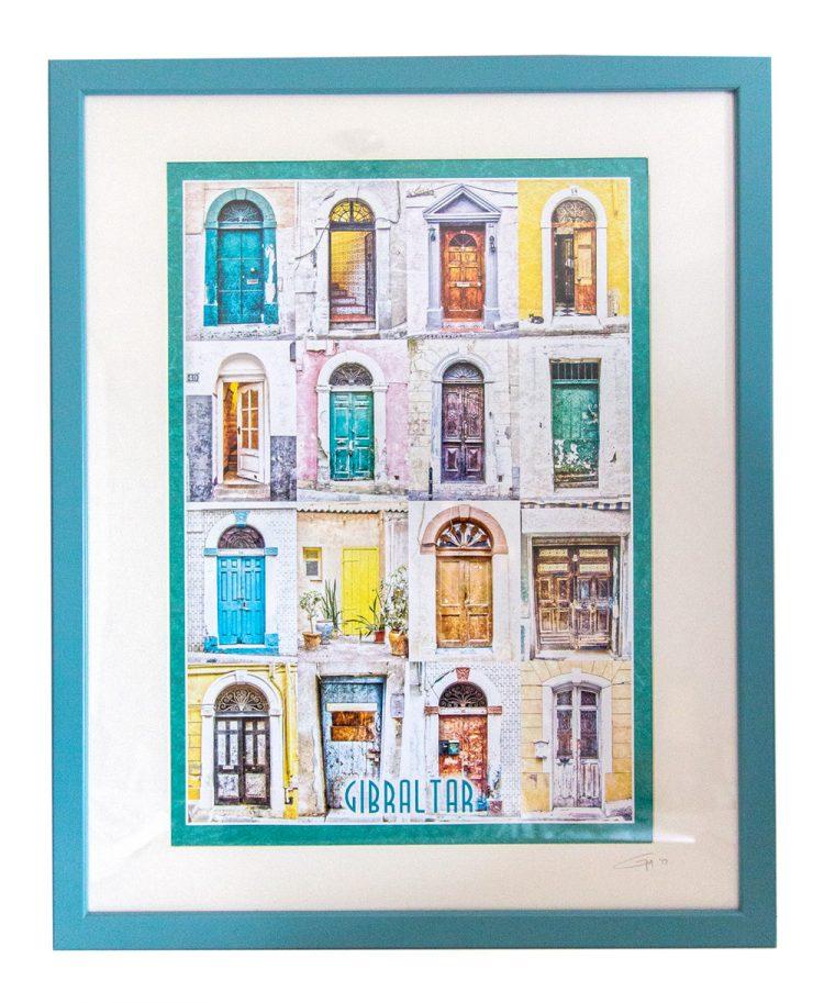 framed-doors-geraldine-martinez-gibraltar-artist