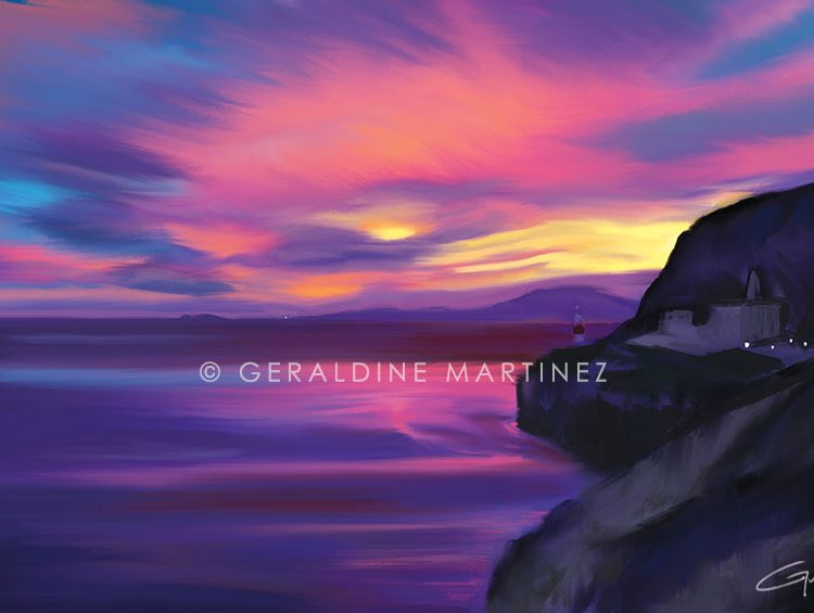 geraldine martinez sunset of the straits
