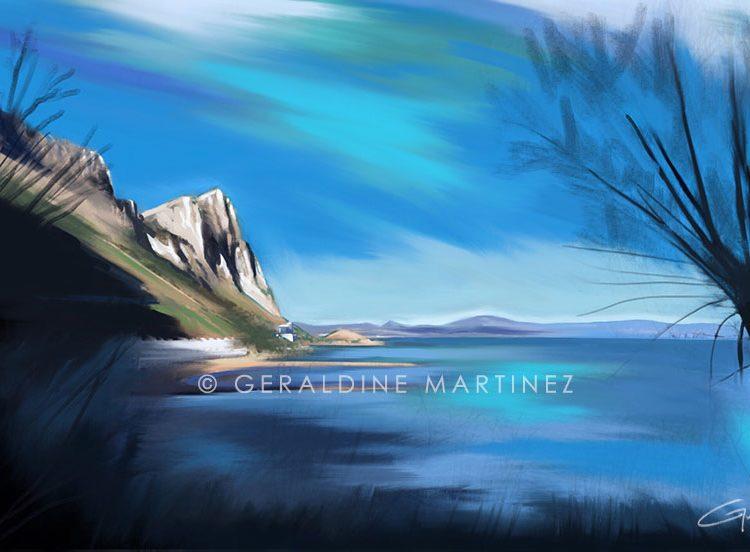 sandy-bay-geraldine-martinez-gibraltar-artist