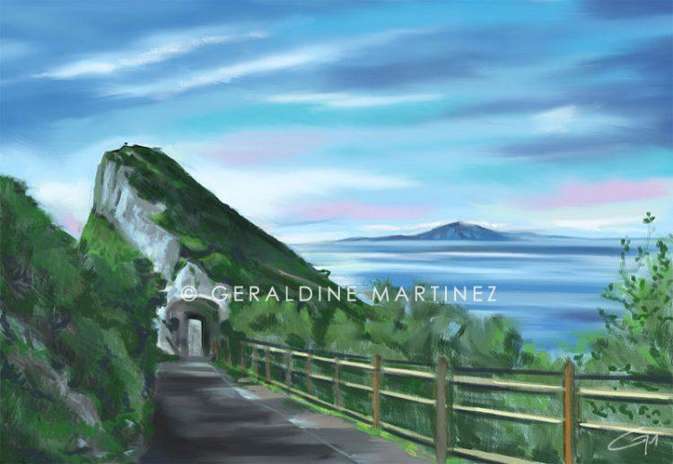 top-of-the-rock-geraldine-martinez-gibraltar-artist