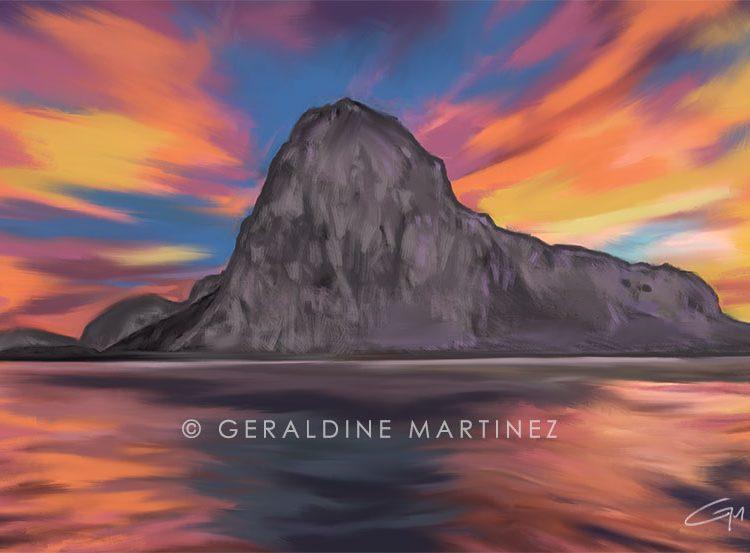eastern-beach-geraldine-martinez-gibraltar-artist